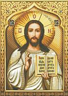 Набор для творчества алмазами Господь Вседержитель (55х77,5см) полная, квадратные