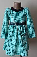 Платье для девочки 2-6 лет