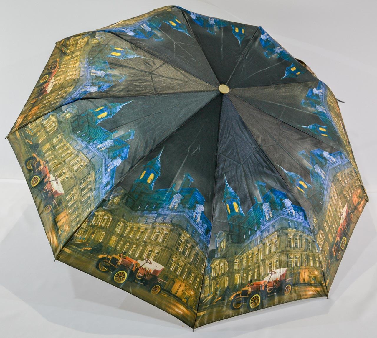 "Женский зонтик полуавтомат ""XYM"" на 9 спиц из стеклопластика"