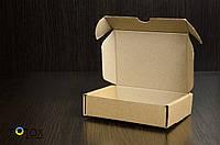 Картонная коробка, самосборная, бурая 12х9х3 см (от 50шт), фото 1