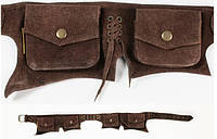 Сумка карман кожа  Wildtrip 6 отделений