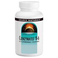 Витамин В6, Source Naturals, Коэнзимный, 25 мг , 120 таблеток