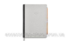 Блокнот Mini Notebook Colour Block, Grey/Grey