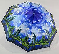 "Женский зонтик полуавтомат ""XYM"" на 9 спиц из стеклопластика , фото 1"