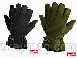 Зимние флисовые перчатки RTHINSULPOL, утепленные фирмы Reis