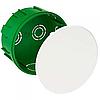 IMT35121 распределительная коробка круглая 100х50 зеленая Schneider Electric