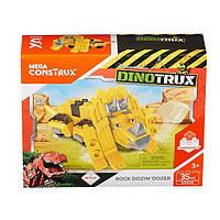 Конструктор Бульдозер Дозер Dinotrux Mega Construx, фото 1
