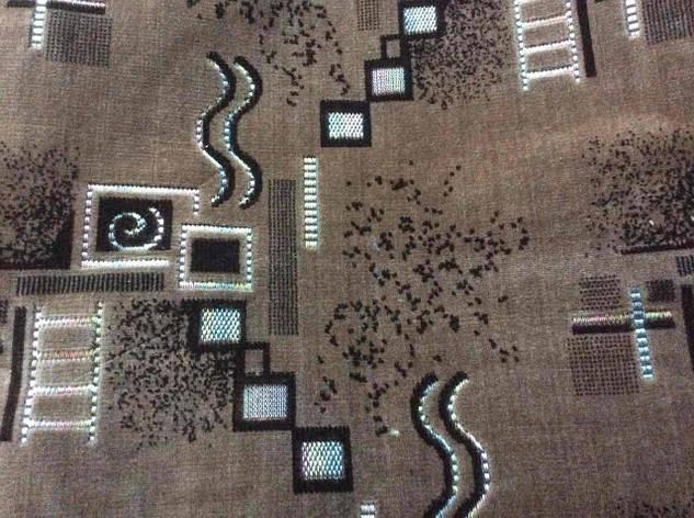 Набор полуторного покрывала на кровать и два кресла, фото 2
