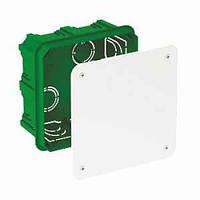IMT35122 распределительная коробка квадратная 100х100х50 зеленая Schneider Electric