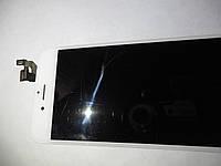 Дисплей с сенсором белый  в сборе б.у. оригинал для  iphone 6