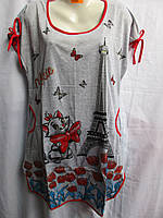 Женская ночная рубашка (XL-5XL) купить оптом