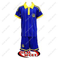 Футбольная форма сборной Украины 2015 синяя