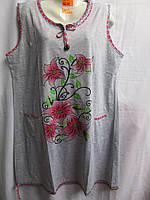 Женская ночная рубашка LD19  (5XL-7XL) купить оптом