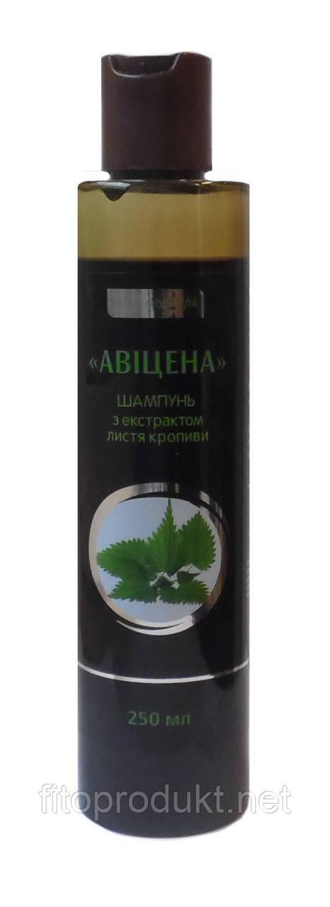 Шампунь з екстрактом листя кропиви лікувальна формула 250 мл Авіценна