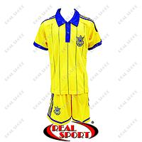 Футбольная форма сборной Украины 2015 желтая