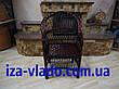Кресло плетеное из лозы — тёмный лак, фото 6