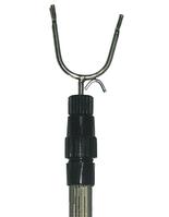 Съемник палка для одежды 123см