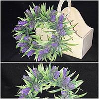 Веночек из хмеля - украшение на двери, диам. 24 см., 85/75 (цена за 1 шт. + 10 гр.)
