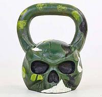 Гиря чугунная окрашенная Skull 20 кг
