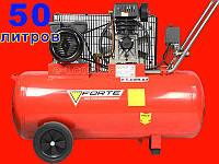 Ременной компрессор на 50 литров Forte ZA 65-50