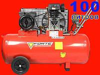 Ременной компрессор на 100 литров Forte ZA 65-100