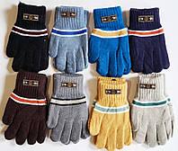 Детские перчатки на мальчика 4-6 лет.  12 пар.