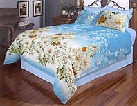 """Комплект полуторного постельного белья """"GOLD"""" - полевые цветы"""