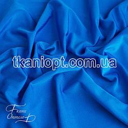 Ткань Бифлекс блестящий (ярко-голубой)
