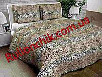 Комплект полуторного постільної білизни Gold - леопардовий забарвлення