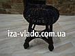 Табурет кухонный плетеный из лозы ( Гриб 2), фото 5