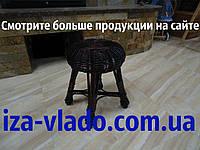 Табурет кухонный плетеный из лозы ( Гриб 2)