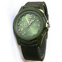 Кварцевые мужские часы Swiss Army (Green)