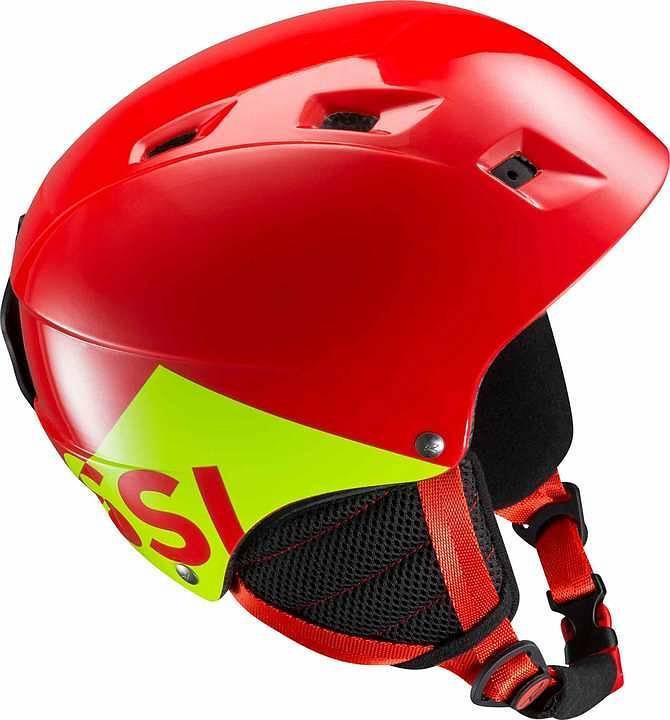 Горнолыжный шлем подростковый Rossignol Comp J red (MD) XS/S
