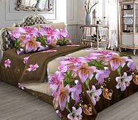 Постельное белье с лилиями полуторного размера недорого