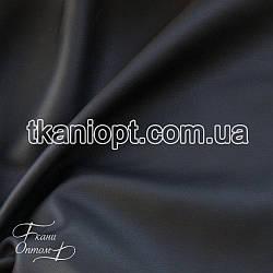 Ткань  Кожзам  матовый (черный)