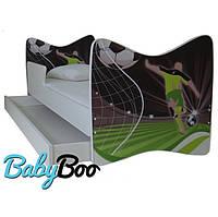 """Детская кровать Junior BABY BOO + ящик + матрас 140 х 70см """"Футболист"""""""