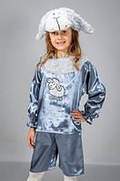 """Детский карнавальный костюм """"Овечка"""" серая атлас, фото 1"""