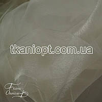 Ткань Органза шиммер (молоко)