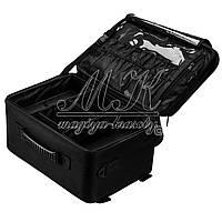 Большая сумка мастера, с ячейками для хранения принадлежностей, черная