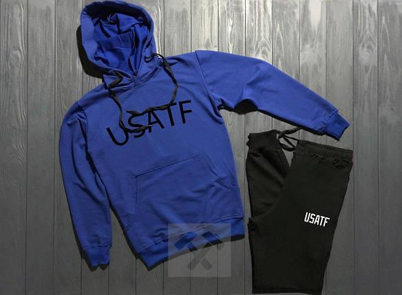 Весенний костюм спортивный Usatf топ реплика, фото 2