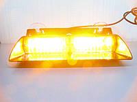 Стробоскопы на стекло LED Viper S2 оранжевый. 22 см., фото 1