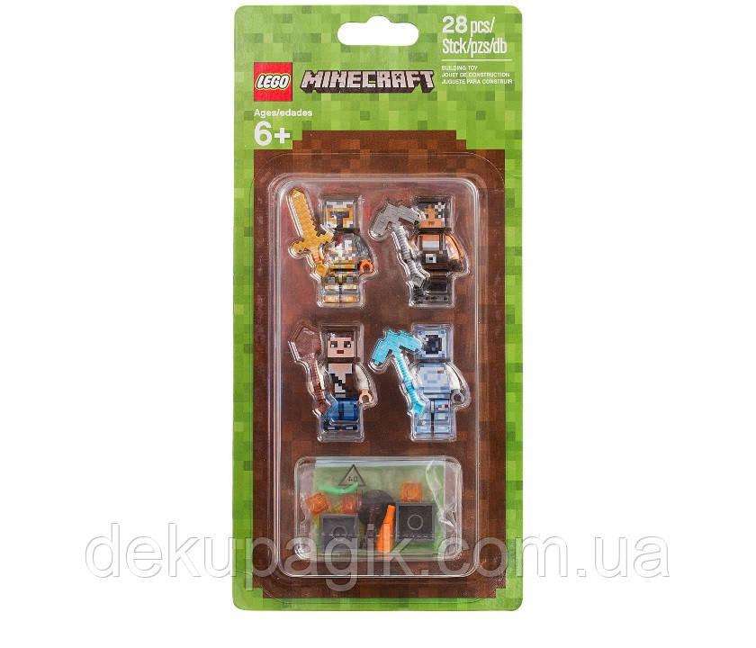 Lego Minecraft Набор минифигурок Minecraft-2 853610