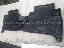 Задние коврики Renault Scenic с 2009 г. (Avto-gumm)