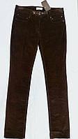 Джинсы Societa коричневые РАЗМЕР+ микровельвет женские оригинал