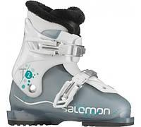 Горнолыжные ботинки детские Salomon t2 girlie rt cold sea/wh (MD)