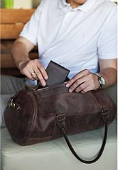 Стильна чоловіча сумка Harper горіх