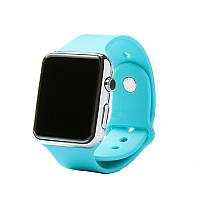 Smart watch A1. Оригинал! 12 месяцев гарантия!!! Голубой