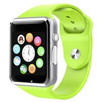 Smart watch A1. Оригинал! 12 месяцев гарантия!!! Зеленый