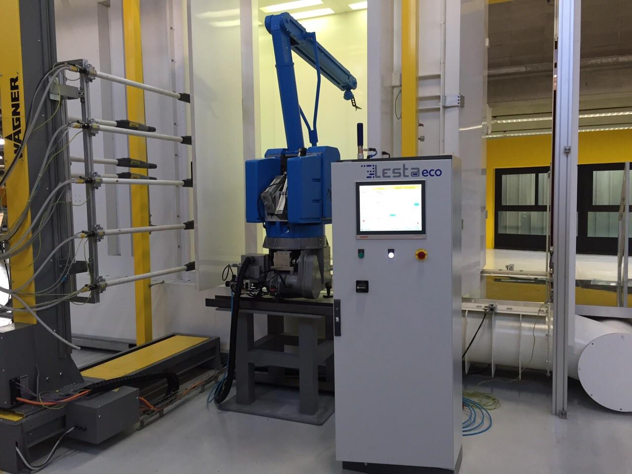 Покрасочный роботизированный комплексLesta LeBot R500 A5 (Б/У) - HYDROMARKET - Гидравлика на Cамосвалы и Cпецтехника европейского качества в Киеве