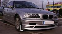 НАКЛАДКА ПЕРЕДНЯЯ BMW E46 SEDAN, KOMBI, фото 1